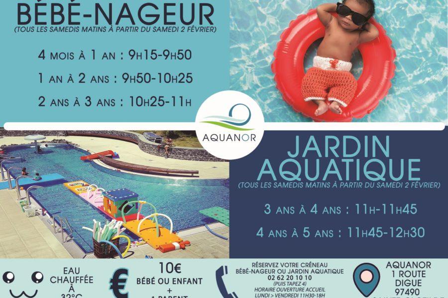 ARRÊT Bébés-Nageur // Jardin Aquatique REPRISE après les vacances d'octobre 2019