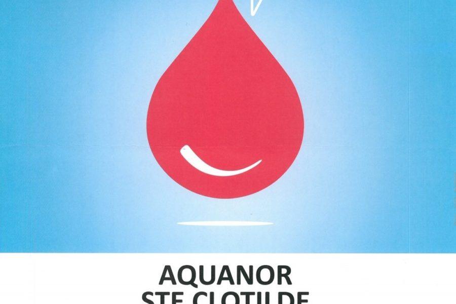 Don du sang Aquanor – mercredi 30 janvier